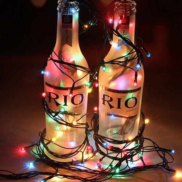 Festival Christmas Decoration 10 Meters Multicolor LED Lights