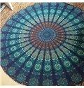 Decorative Bohemian Style Vintage Round Outdoor Multi Usage Beach Throw Mat