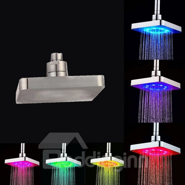 LED Colors Change Shower Head