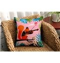 Super Cute Vibrant Color Animal Print Throw Pillow Case