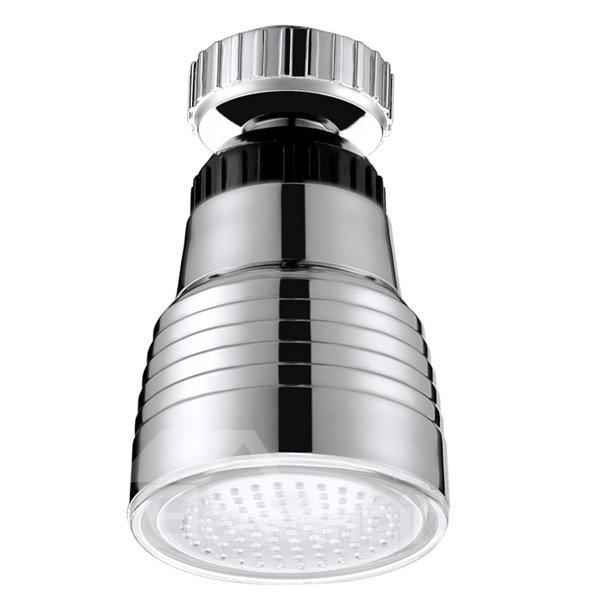 Modern Design Temperature Sensor 3 Colors Kitchen Faucet Head