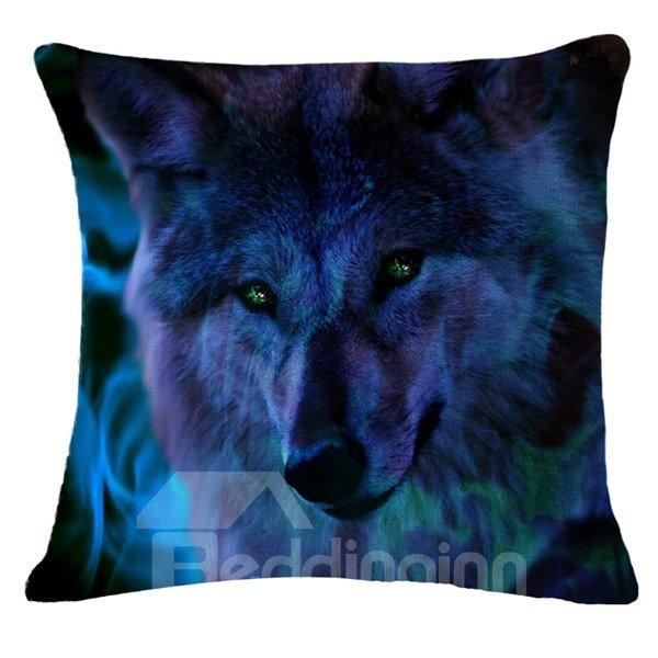 Unique Design Personalized 3D Animal Print Throw Pillow Case