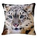 Fashionable 3D Animal Print Throw Pillow Case
