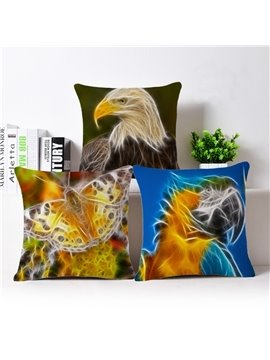 Unique Design Dreamy Animal Print Throw Pillow Case