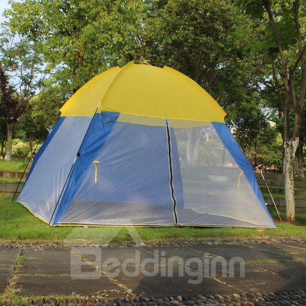 Outdoor 3-4 Person Waterproof Screened Camping and Hiking Tent