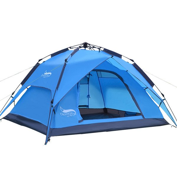 3-4 Person Outdoor Waterproof and Windproof Automatic Building with Rainfly Camping Tent