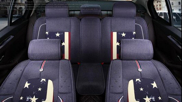 American Iconic Flag Pattern Fashional Universal Car Seat Cover