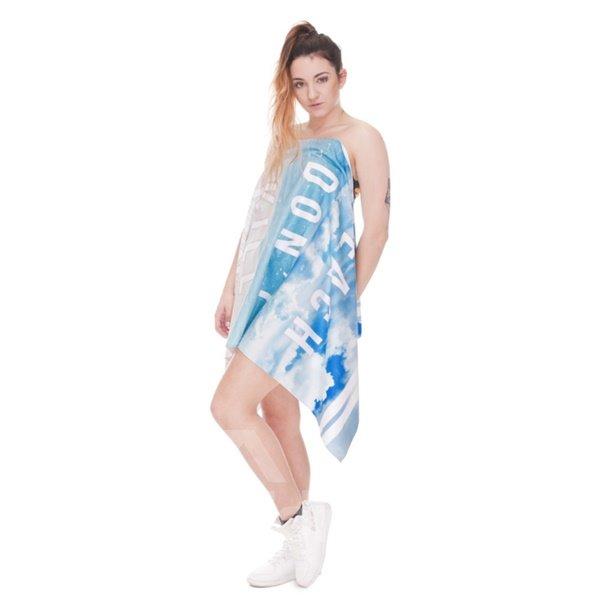 Peace Beach 3D Printing Square Beach Towel & Bath Towel