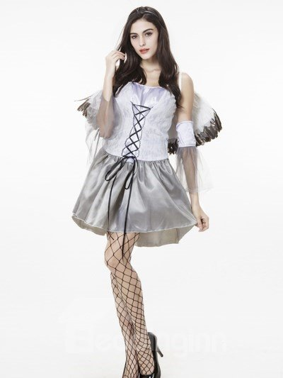 Angle Modeling With Refinement Little Wing Style Cosplay Costumes