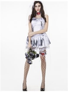Ghost Bride Modeling Attractive Cosplay Costumes