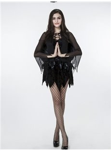 Black Angle Modeling With Sexy Wing Most Attractive Cosplay Costumes