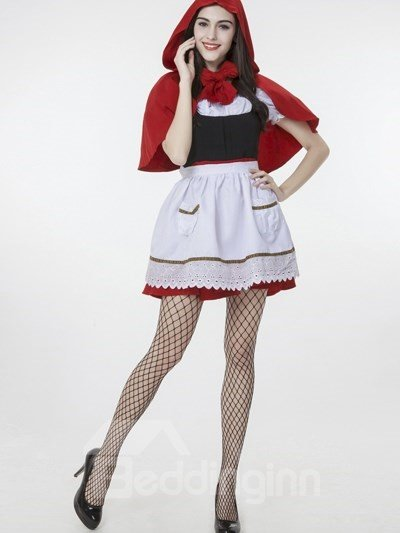 Little Red Riding Hood With Beautiful Cloak Cosplay Costumes