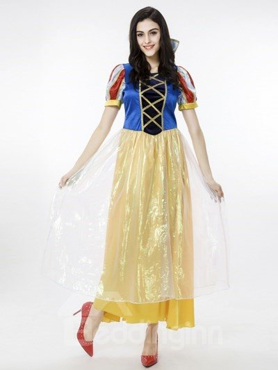Beautiful Fairy Princess Style With Charming Headwear Cosplay Costumes