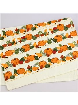 Pumpkin in Many Shapes Printing Face & Hand Towel