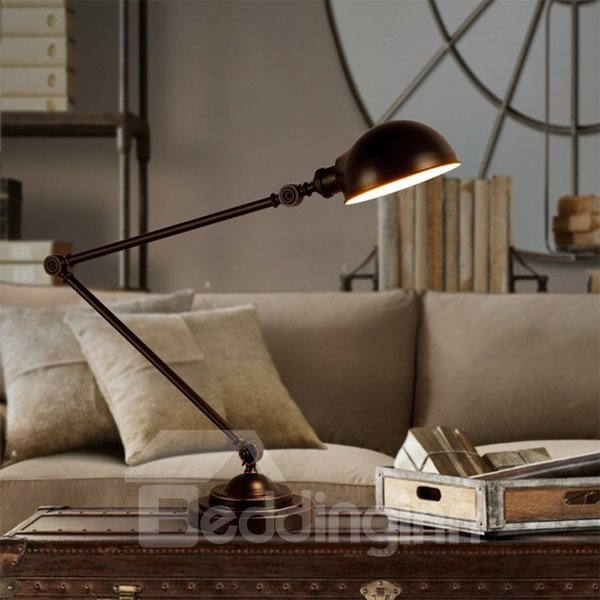 Wonderful Unique Design Iron Frame Home Decorative Table Lamp