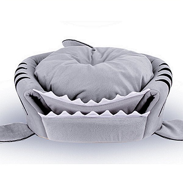 Shark Design Soft Waterproof Bottom For Small Dog&Cat Bed
