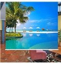 Gorgeous Coast Nature Scenery 3D Printing Blackout Roller Shades
