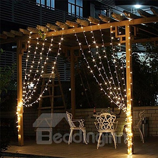 White 12*25 String Bulbs Plug-in Waterproof LED Lights