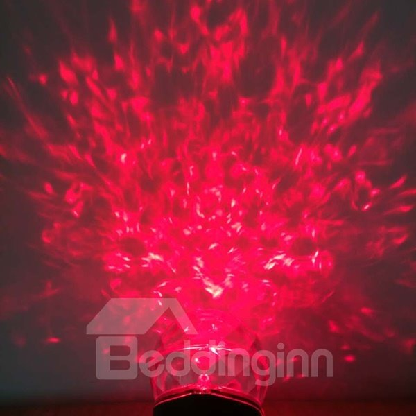 Marvelous Plastic Red and Green Color Changing Projection LED Light