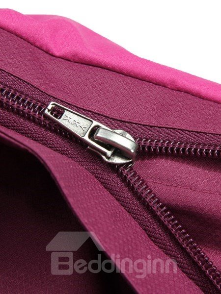 Male Color Block Front Zipper 3 in 1 Fleece Lining Warm Jacket