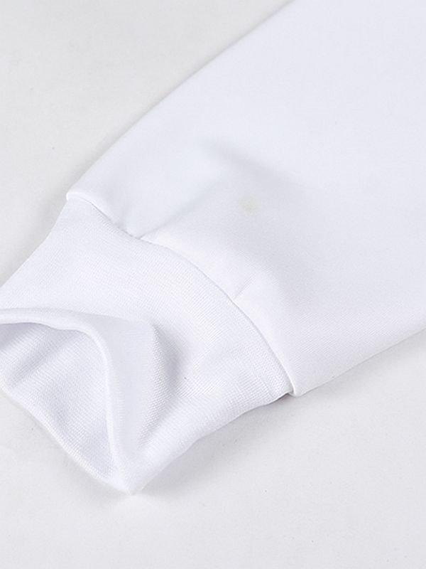 Unique Long Sleeve Pour the Milk Pattern Pocket 3D Painted Hoodie