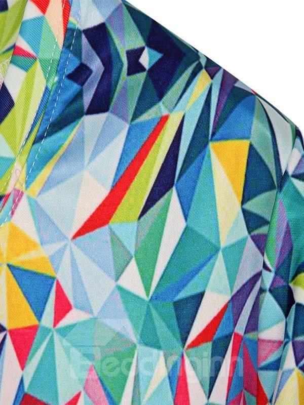 Modern Long Sleeve Sweetheart Pattern 3D Painted Hoodie