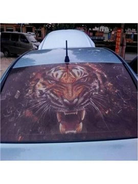 Popular Ferocious Tiger Modeling Anti-Rear High Beam Car Sticker