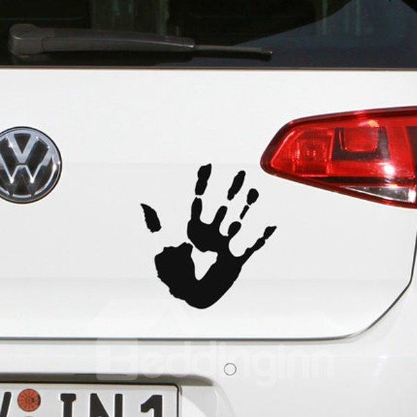 Horror Blood Fingerprint Pattern Cool Car Sticker
