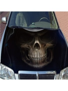 Attractive Dark Secret Skull Style Car Sticker