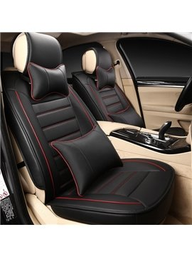 Contrast Color Simple Design Business Styled Universal Car Seat Cover