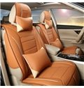 Casual Business Style Partially Covered Universal Five Car Seat Cover