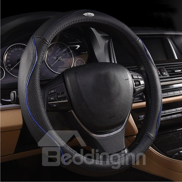 Classic And Business Design With Sport Line Car Steering Wheel Cover