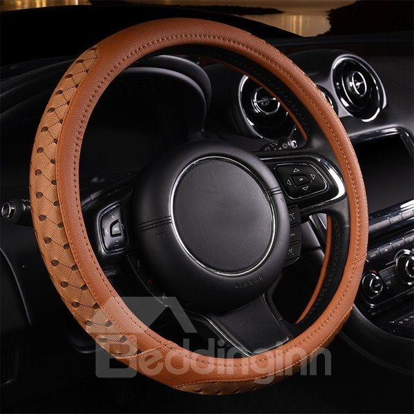Fashional Design And High Cost-Effective Colorful Leather Car Steering Wheel Covers