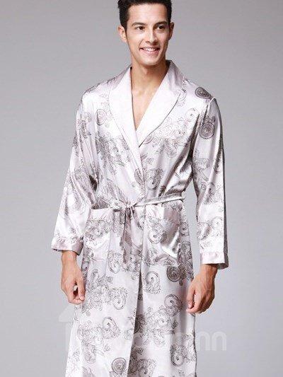 One-Piece Floral Robe Formula Luxury Popular Pajamas