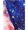 Wonderful Long Sleeve Blue Galaxy Pattern 3D Painted Hoodie