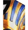 Popular Long Sleeve Tutankhamun Pattern 3D Painted Hoodie