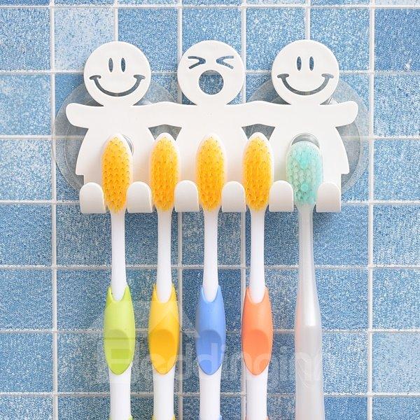 Super Cute Cartoon Resin Suction Toothbrush Holder