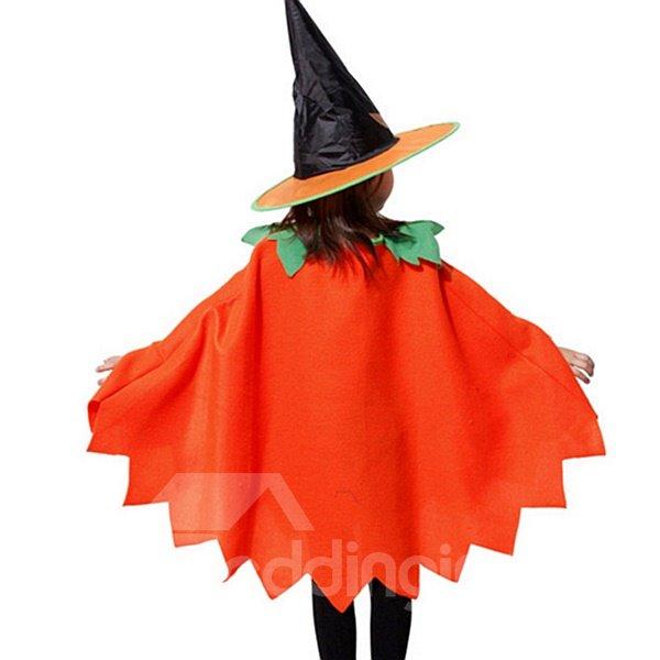 Halloween Style Pumpkin Pattern Children Costume
