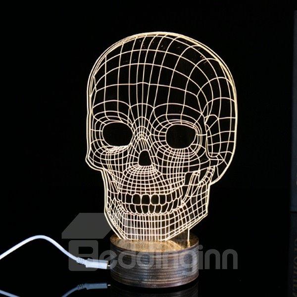 Creative Halloween Decoration Skull Pattern LED Light