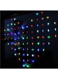 Romantic Decorative Heart Shaped 6.6 Feet Width LED Light