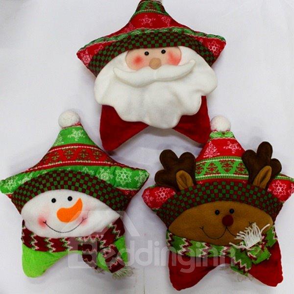 Lovely Festival Christmas Decoration Three Patterns for Choose Bolster