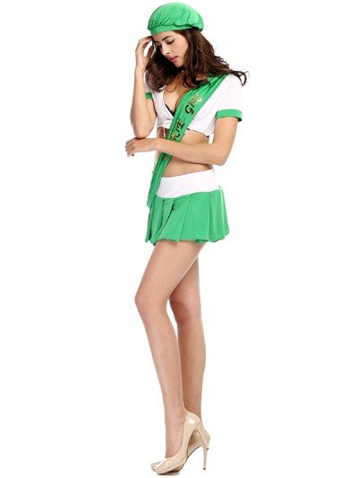 Miss Universe Modeling With Fashional Short Skirt Cosplay Costumes