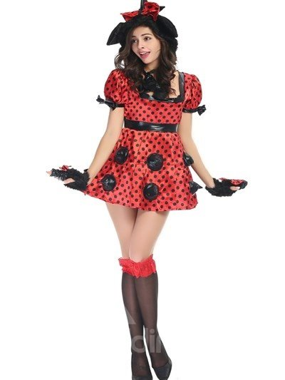 Evil Little Princess With Lovely Hat Charming Cosplay Costumes