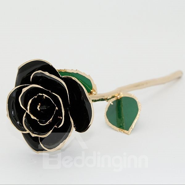 Romantic Never Fade Few Colors for Choose 24K Gold Rose
