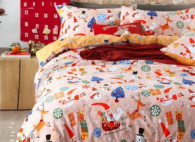 100% Cotton Christmas Gift 4-Piece Duvet Cover Sets