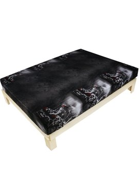 Luxury Leopard Car Print 3D Fitted Sheet