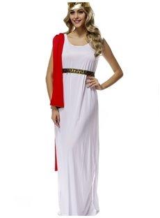 Beautiful Fairy In Golden Headwear Style Cosplay Costumes