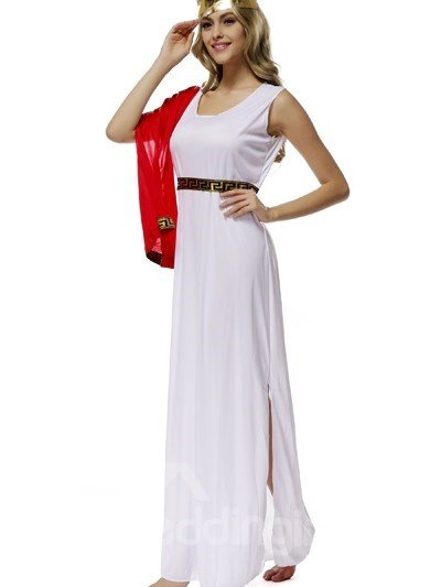 Beautiful Fairy In Golden Headwear Style Cosplay Costumes