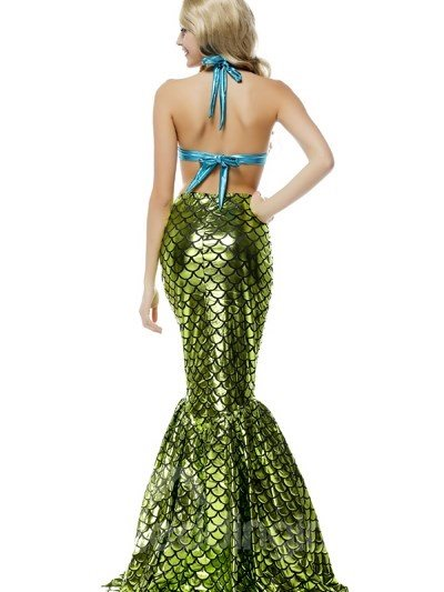 Sexy Mermaid Modeling Elegant Beautiful Cosplay Costumes