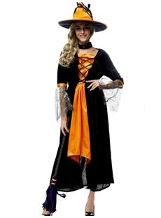 Elegant Intellectual Witch Style With Props Cosplay Costumes